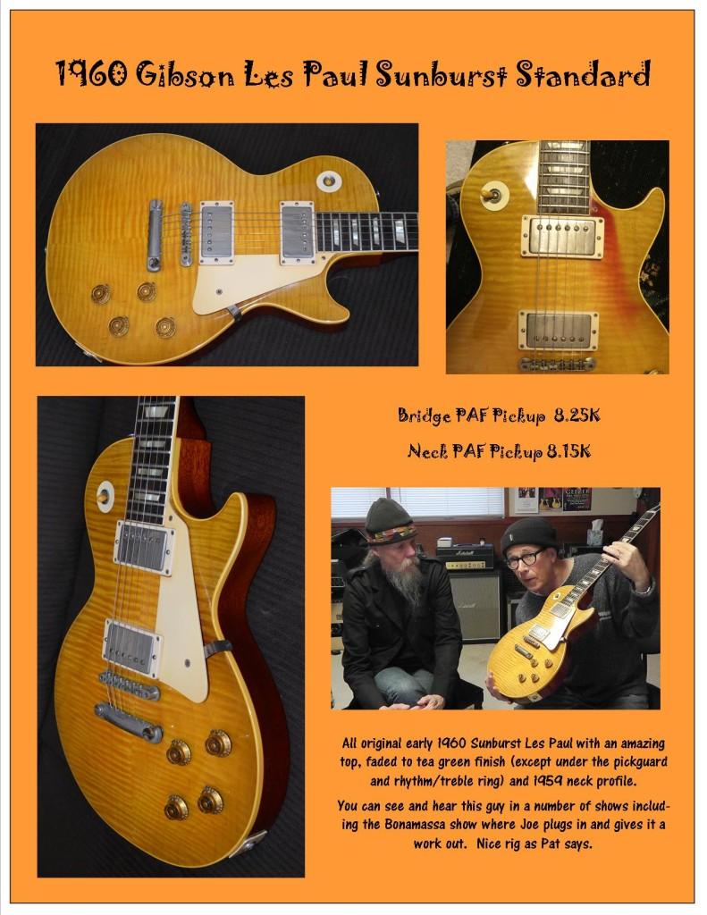 Gibson 1960 SB Les Paul