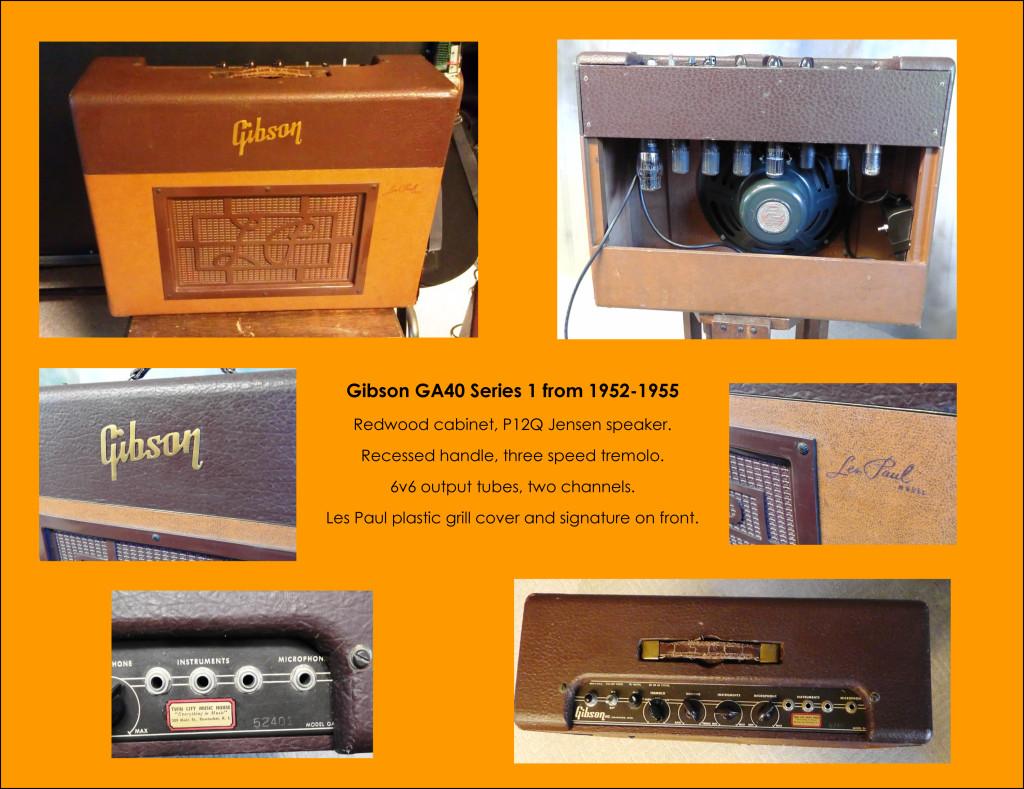 Gibson GA40 series 1, 2, 3 and 4